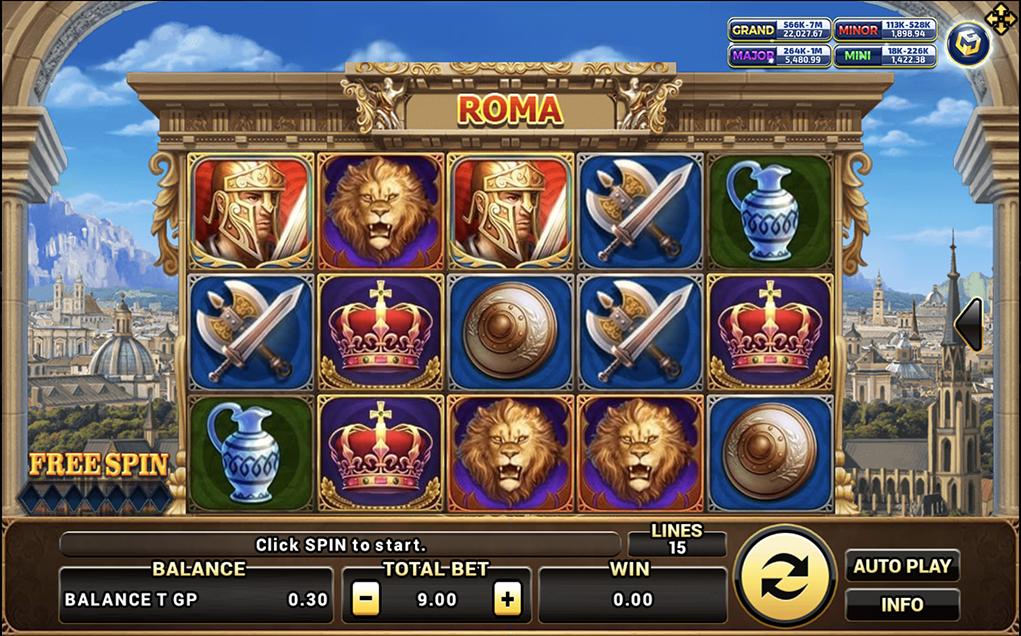 สล็อตแจ็คพอตแตก-เกมไหนบ่อยที่สุด-Roma