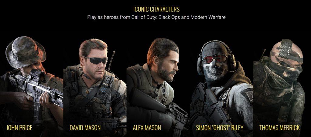 ตัวละคร Call of Duty สุดมันส์ มีอะไรบ้าง(1)