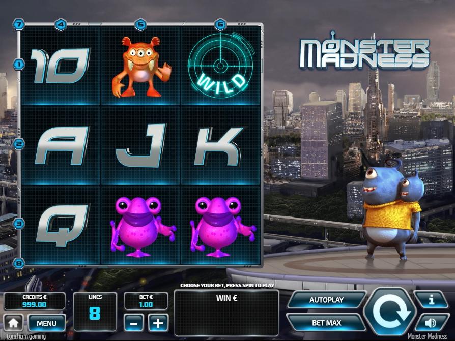 Monster Madness เผชิญหน้าอนาคตกลางเมืองใหญ่เกมทำกำไรที่ไม่ควรพลาด(1)