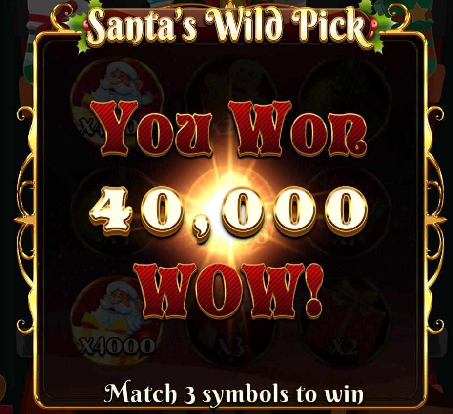 สล็อต Santas Wild Pick Gametips