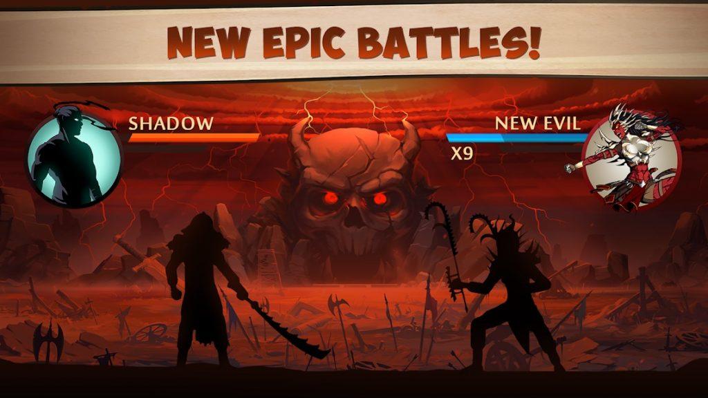 เกม Shadow Fight 2 สู้ยิบตา มาเหนือภาคแรก1