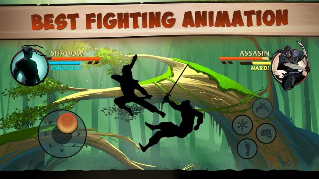 เกม Shadow Fight 2 สู้ยิบตา มาเหนือภาคแรก2