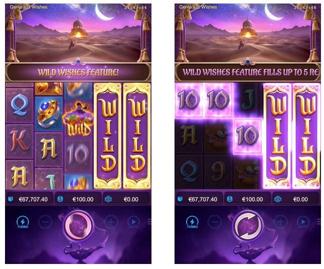 สล็อตออนไลน์ Genie's 3 Wishes-Gametips-3