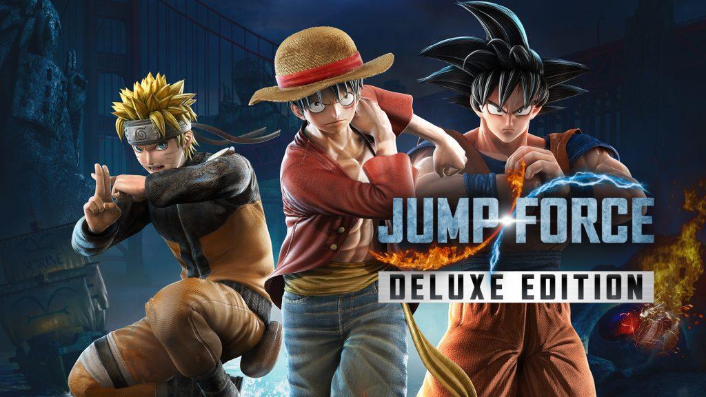 Jump Force Nintendo Switch เกมรวมฮิตการ์ตูนดัง(1)