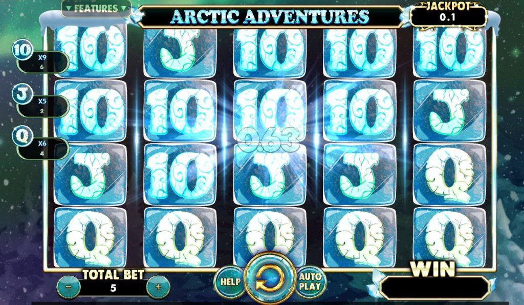 เกมเล่นได้เงิน กับสล็อต Arctic Adventures ตะลุยแดนหิมะ-3