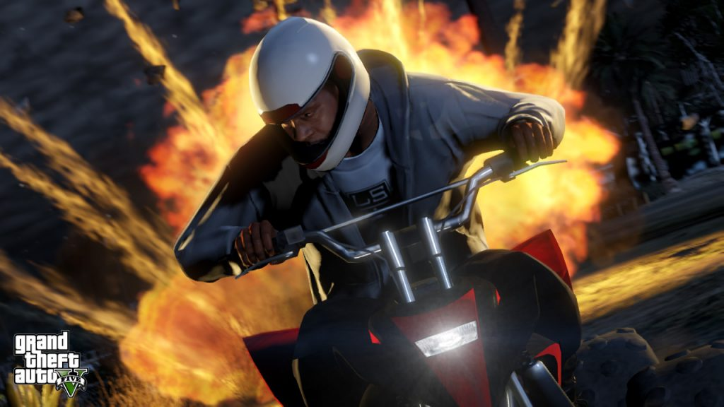 Grand Theft Auto Online เกมสุดโหด ท้าให้ลอง1