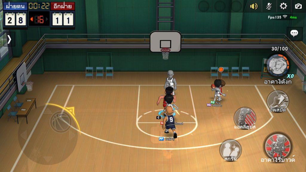 Slam Dunk mobile เกมบาสสะท้านโลก (2)