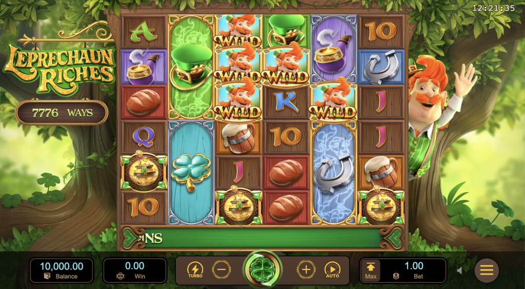 Leprechaun Riches เกมสล็อต ภูติจิ๋วลุ้นเหรียญทองคำ-1