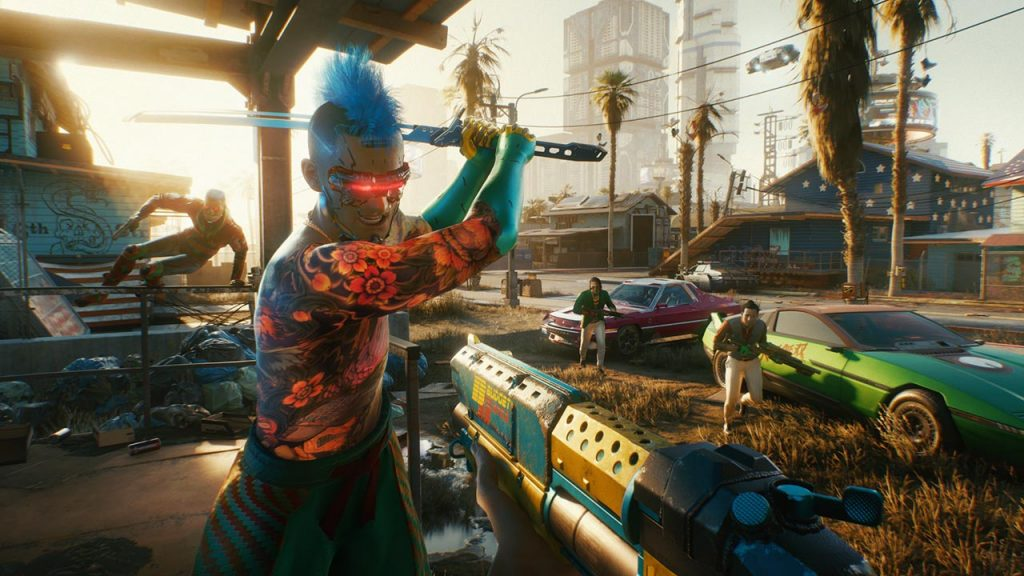 Cyberpunk 2077 เกมเดือด แนวไซเบอร์2