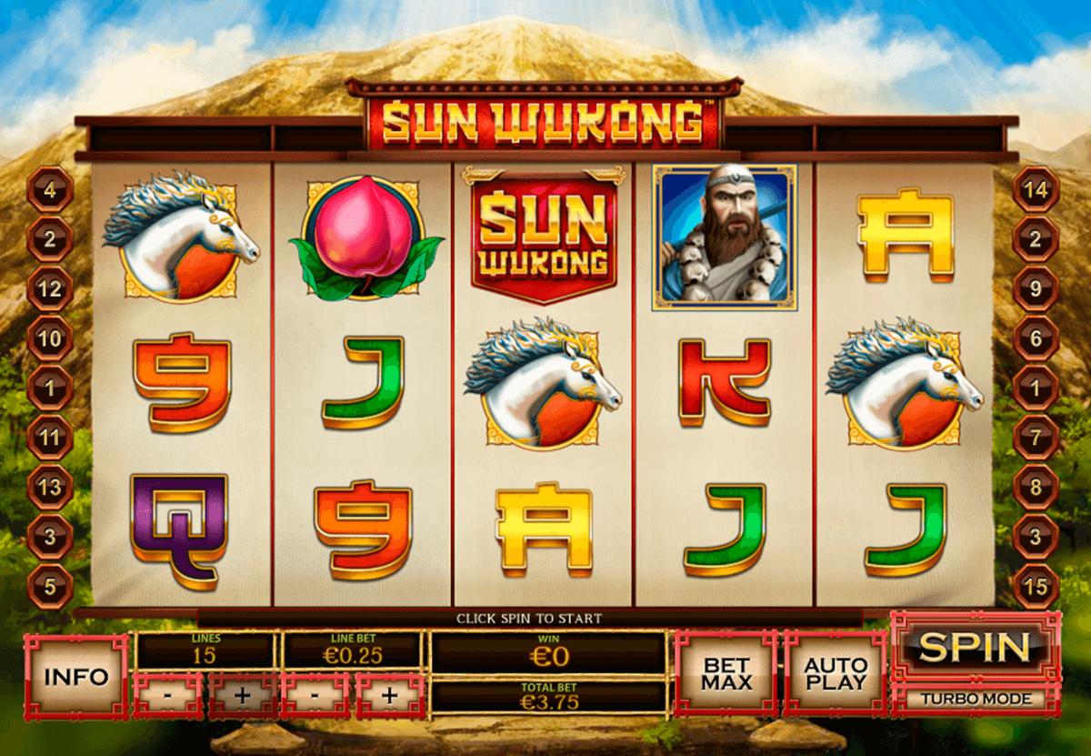 สล็อต918Kiss เกมทำเงิน เล่นได้จุใจ-sun-wukong