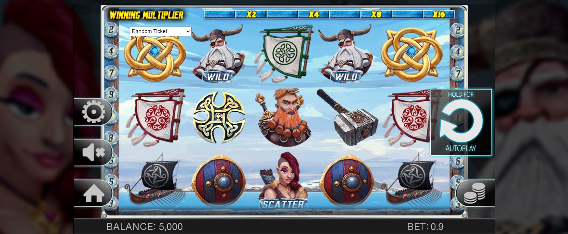 เกมสล็อต Viking's Glory พาคุณรวยและล่องทะเลกับชาวไวกิง
