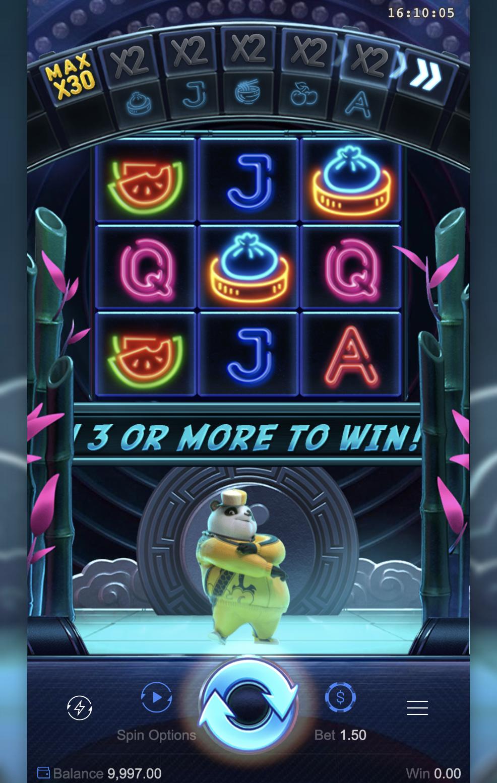 Hip Hop Panda รีวิวเกมสล็อต-Gametips-1