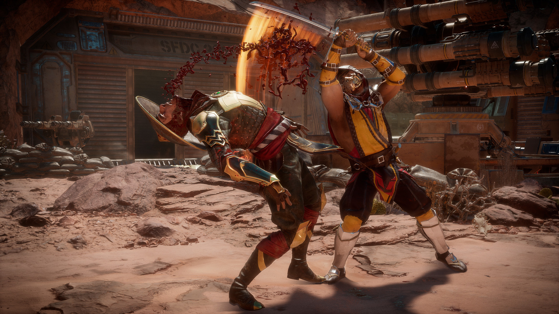 Mortal Kombat 11 เกมเดือด เลือดกระจาย (2)