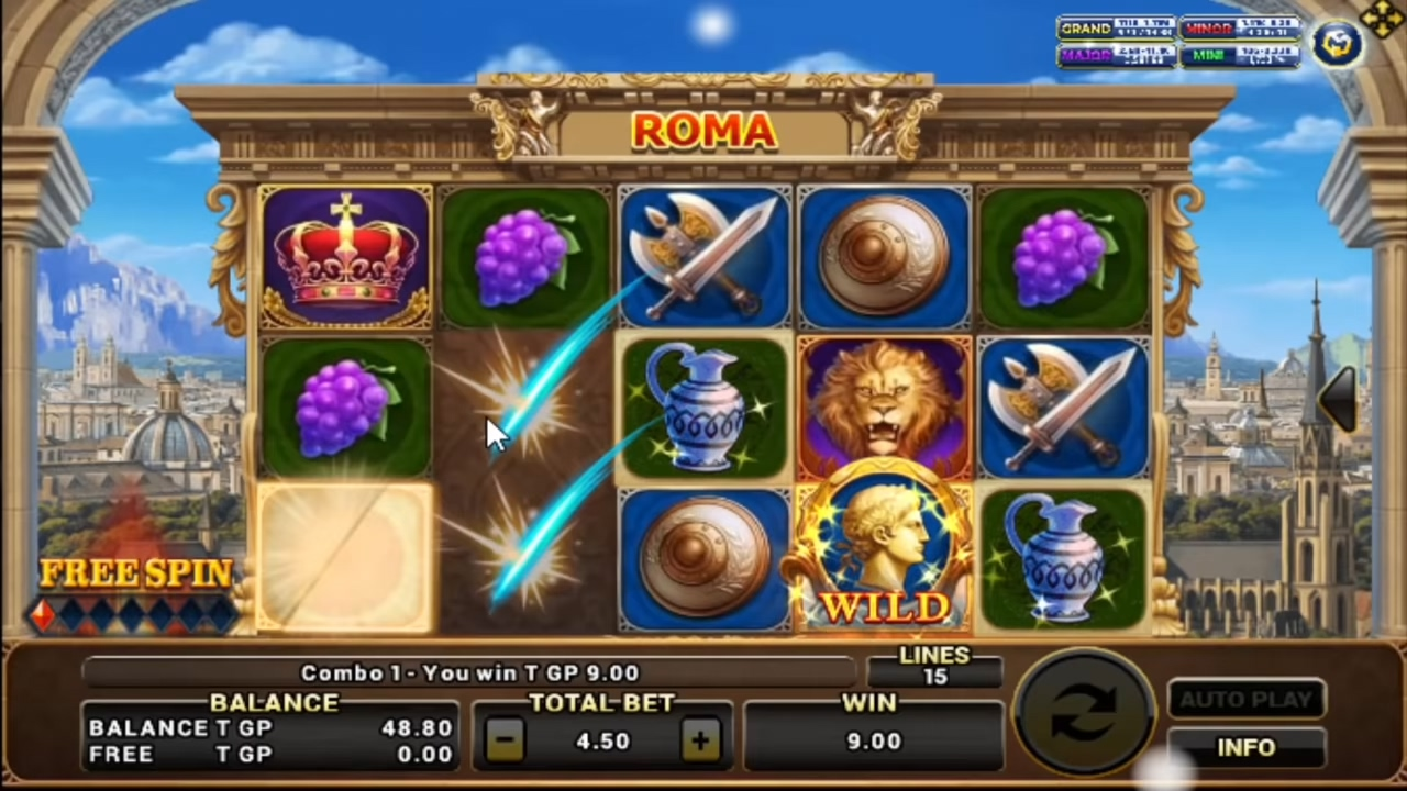 สล็อตRoma ร่ำรวยไปกับนักรบโรมัน สายบู๊-3
