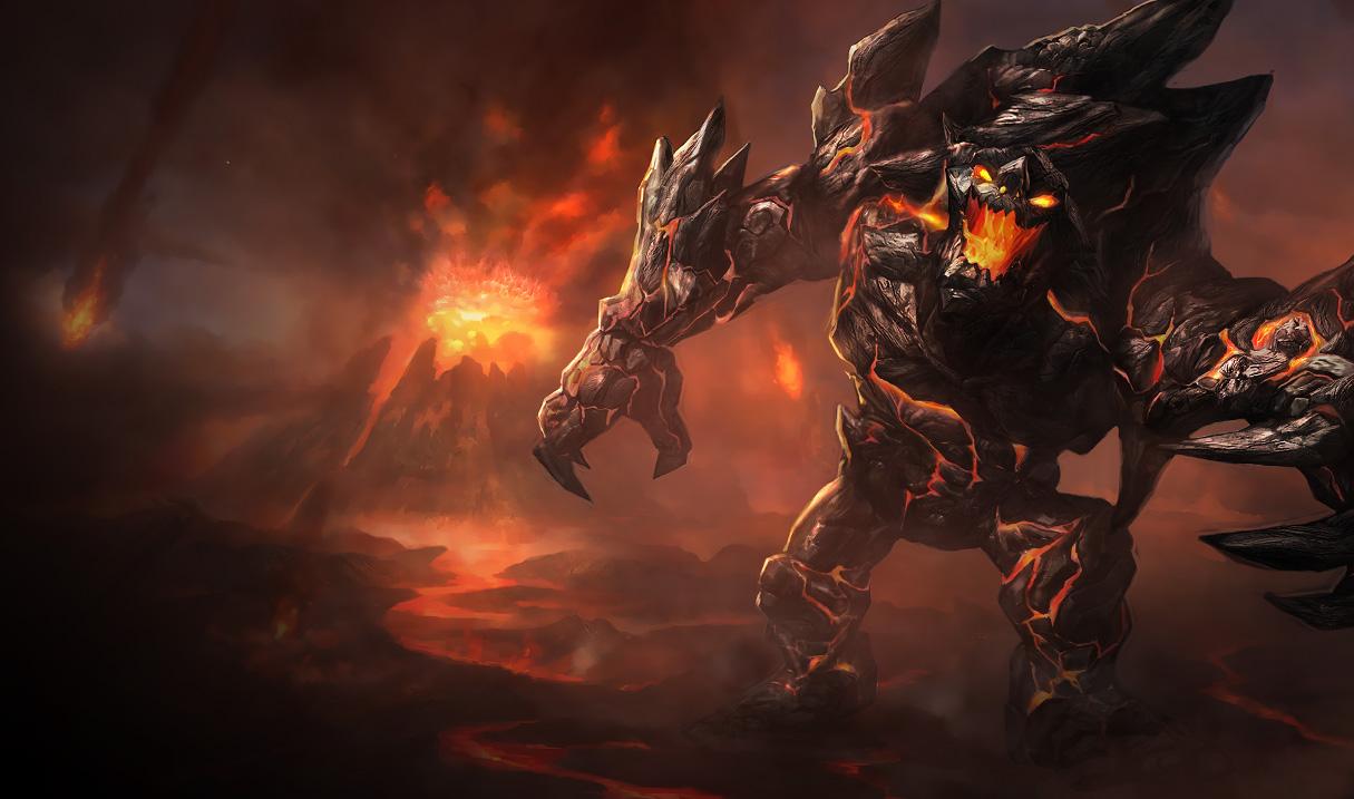 เกม League Of Legends ตัวละคร สุดโหด ที่น่าลอง-Malphite