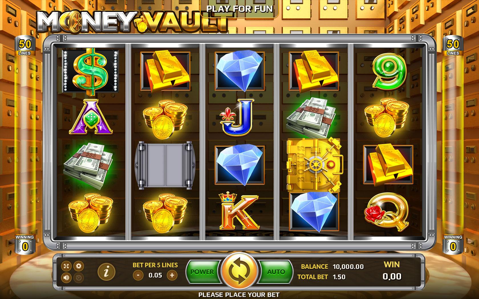 Money Vault รีวิวเกมสล็อต กับ ภารกิจปล้นเงิน-Gametips