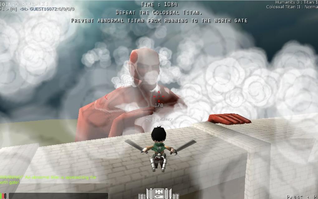 Attack on Titan tribute game เกมปราบยักษ์โหด2