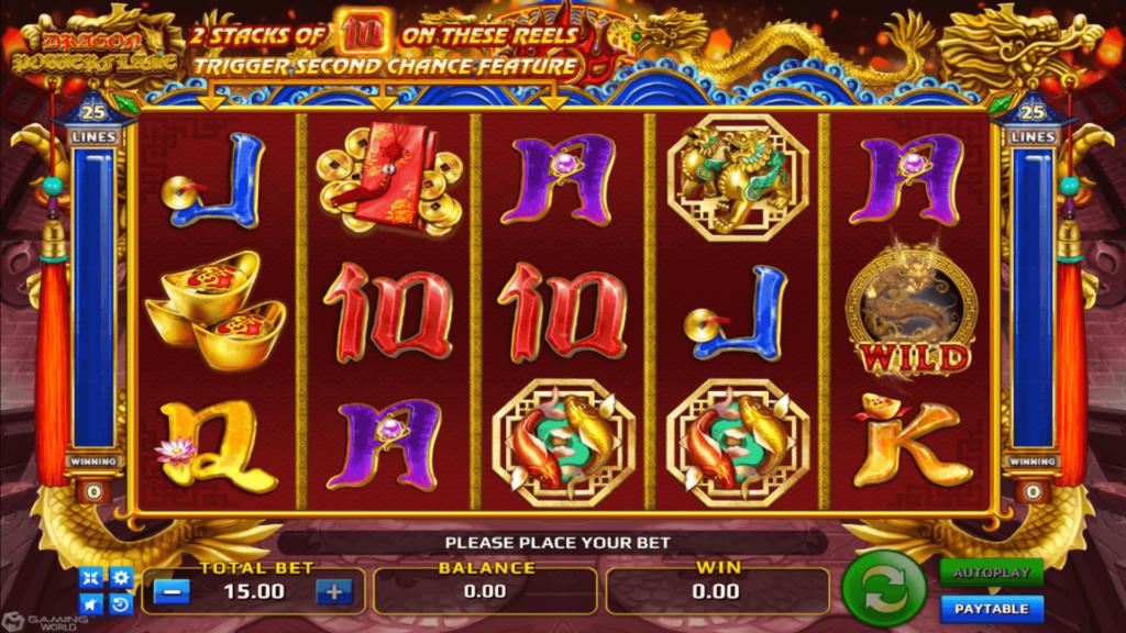 สล็อต 9 มี Slot ให้เลือกเล่นมากกว่า 500 เกม เกม Dragon Power Flame