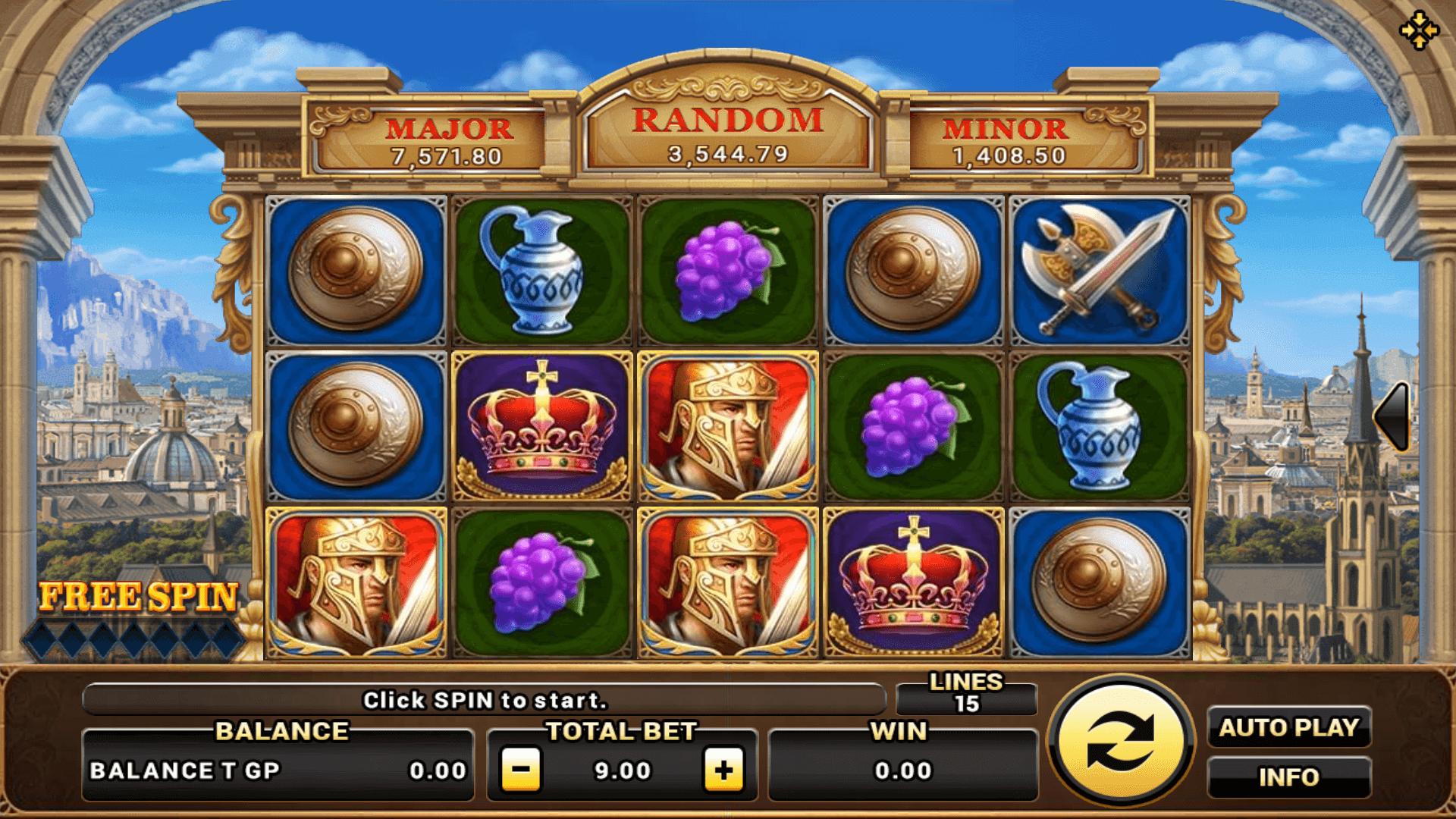 สล็อต 9 มี Slot ให้เลือกเล่นมากกว่า 500 เกม Roma
