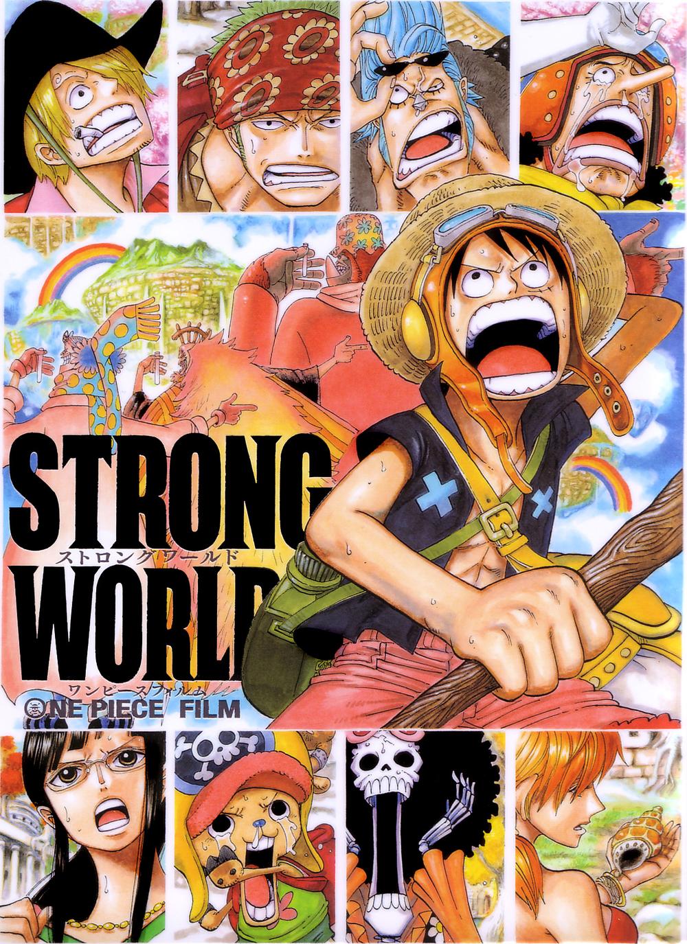 One Piece Strong World ภาคพิเศษฉลองครบ 10 ปี1