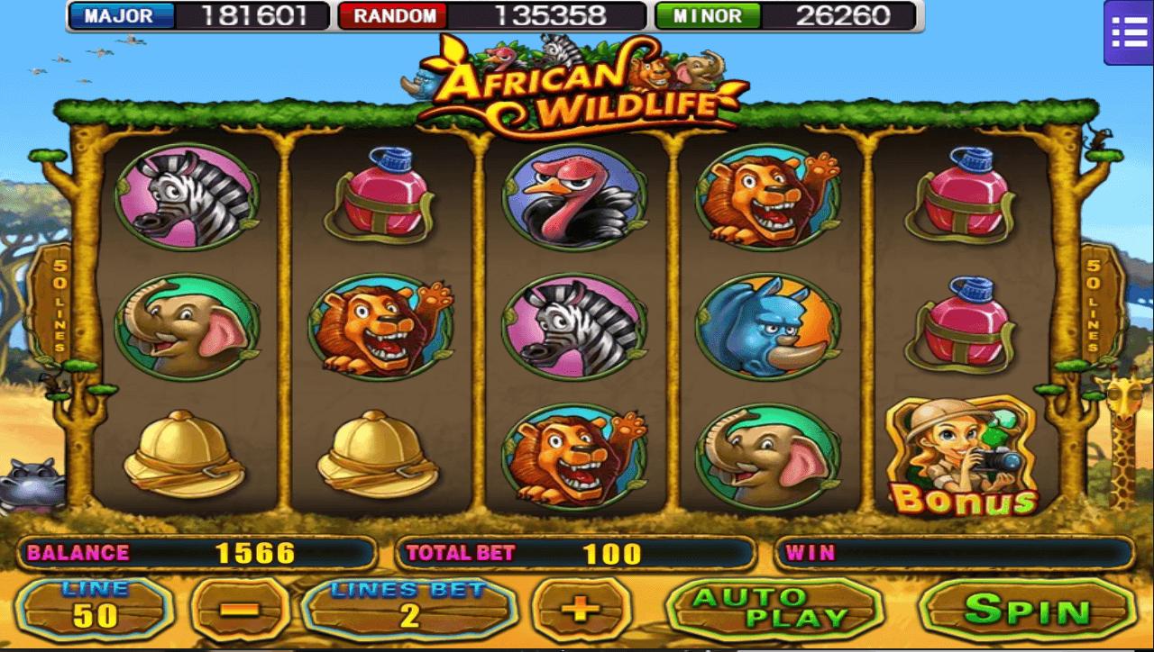 Slot 918kiss แนะนำเกมสล็อตสุดมันส์-African-Wildlife