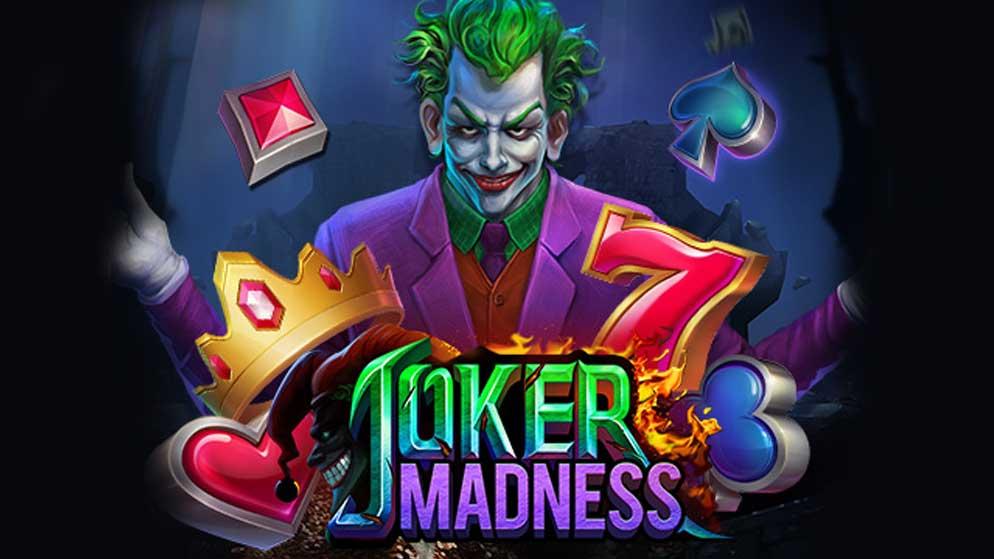 รีวิวเกมสล็อต Joker Madness เจ้าวายร้ายจอมปั่น