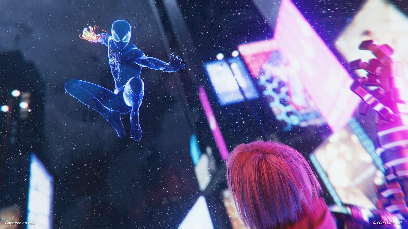 Spiderman Miles Morales ไมลส์ ไอ้แมงมุมสุดฮา1