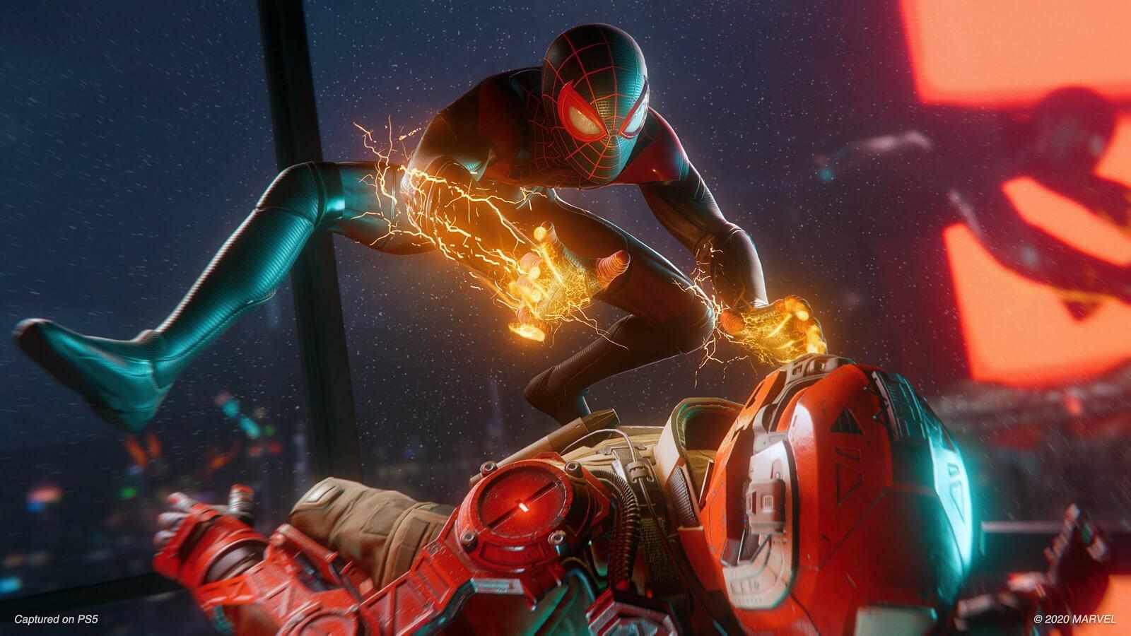 Spiderman Miles Morales ไมลส์ ไอ้แมงมุมสุดฮา2