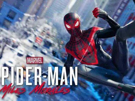 Spiderman Miles Morales ไมลส์ ไอ้แมงมุมสุดฮา