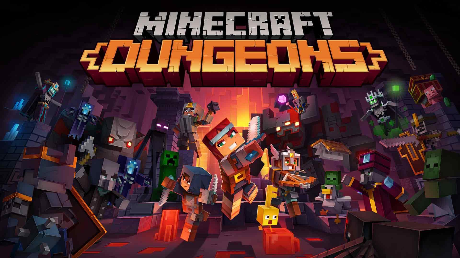 5 เกมฟรีPC ในเป็นตำนานที่ควรเล่น-minecraft-dungeons