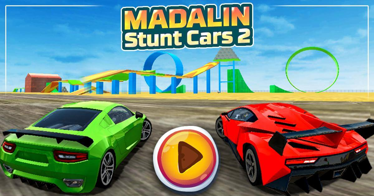 เกมฟรีไม่ต้องโหลด ไม่กินพื้นที่แถมสนุก Madalin Stunt Cars 2