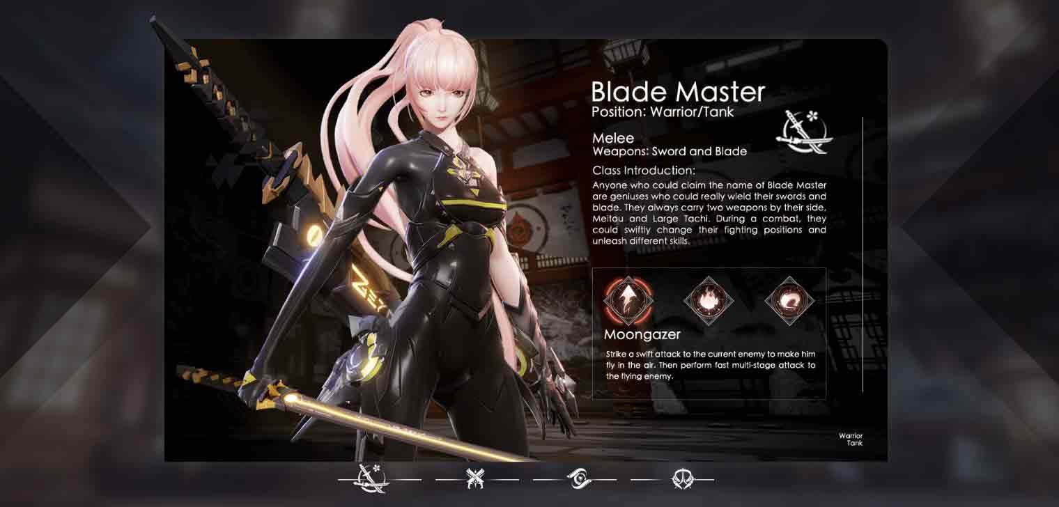 Dragon Raja อาชีพ-Blade Master-Gametips