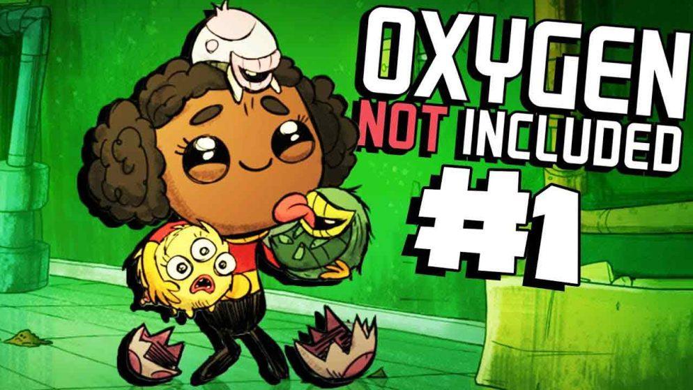 Oxygen Not Included เกมตะลุย นอกโลก