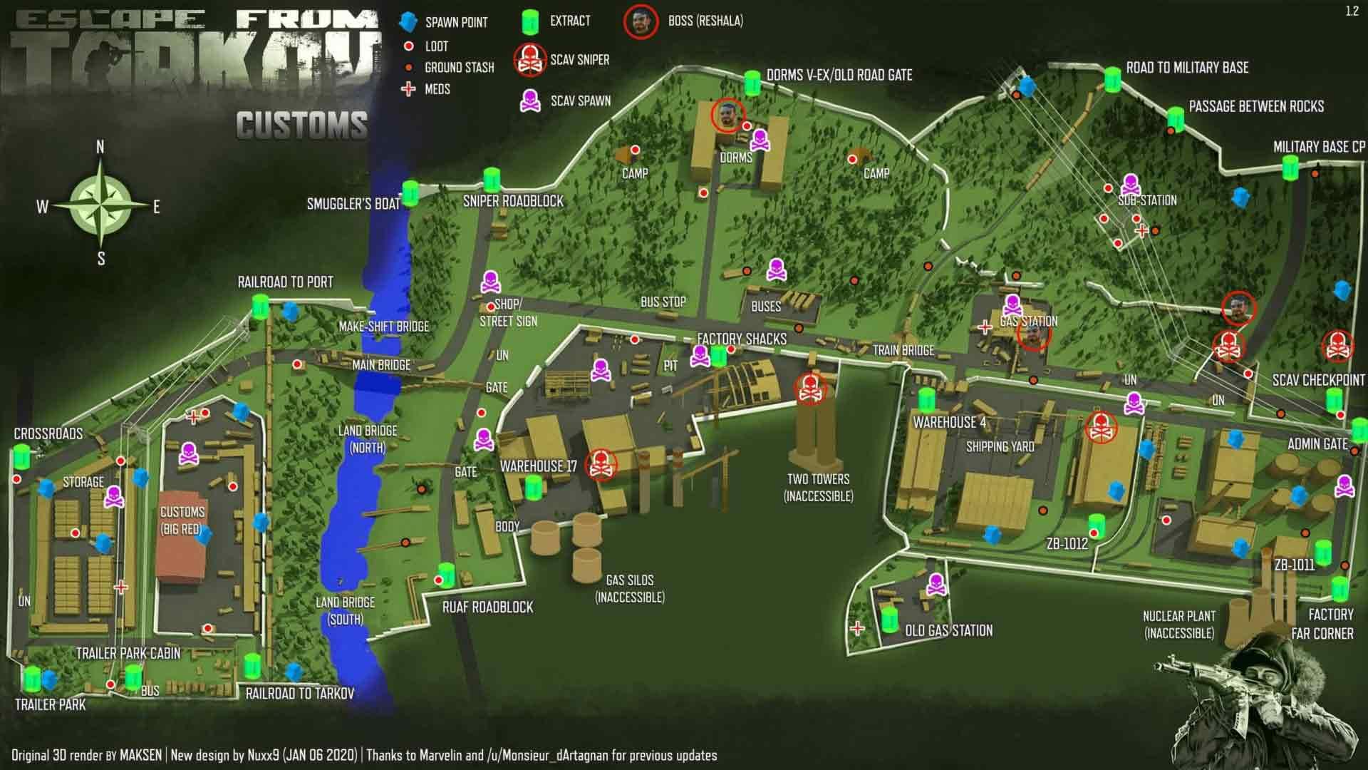 Escape-from-Tarkov-Map-และฉากสุดยิ่งใหญ่1