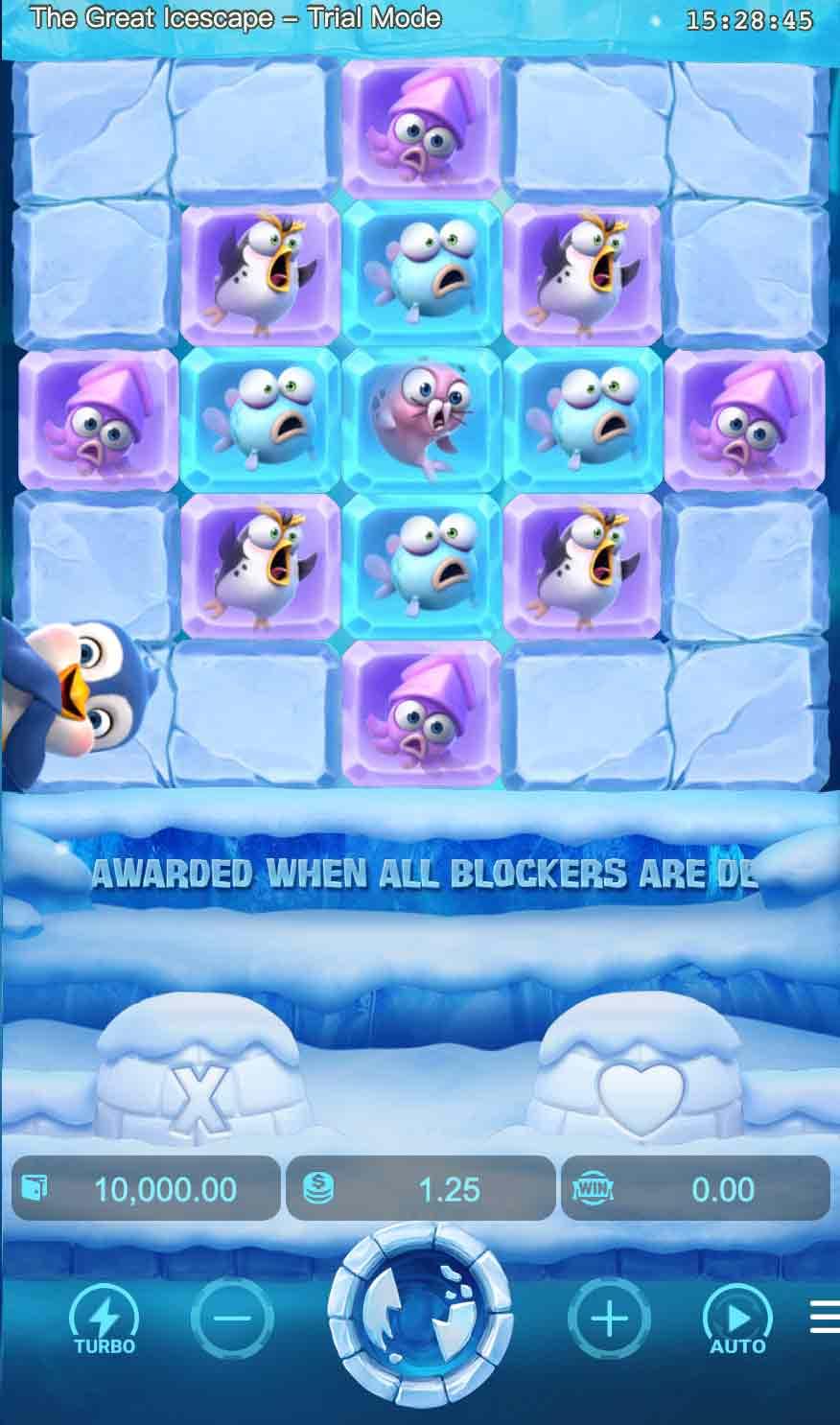 เทคนิคเล่นเกมสล็อตแบบราชา กับ Slotking-Icescape3