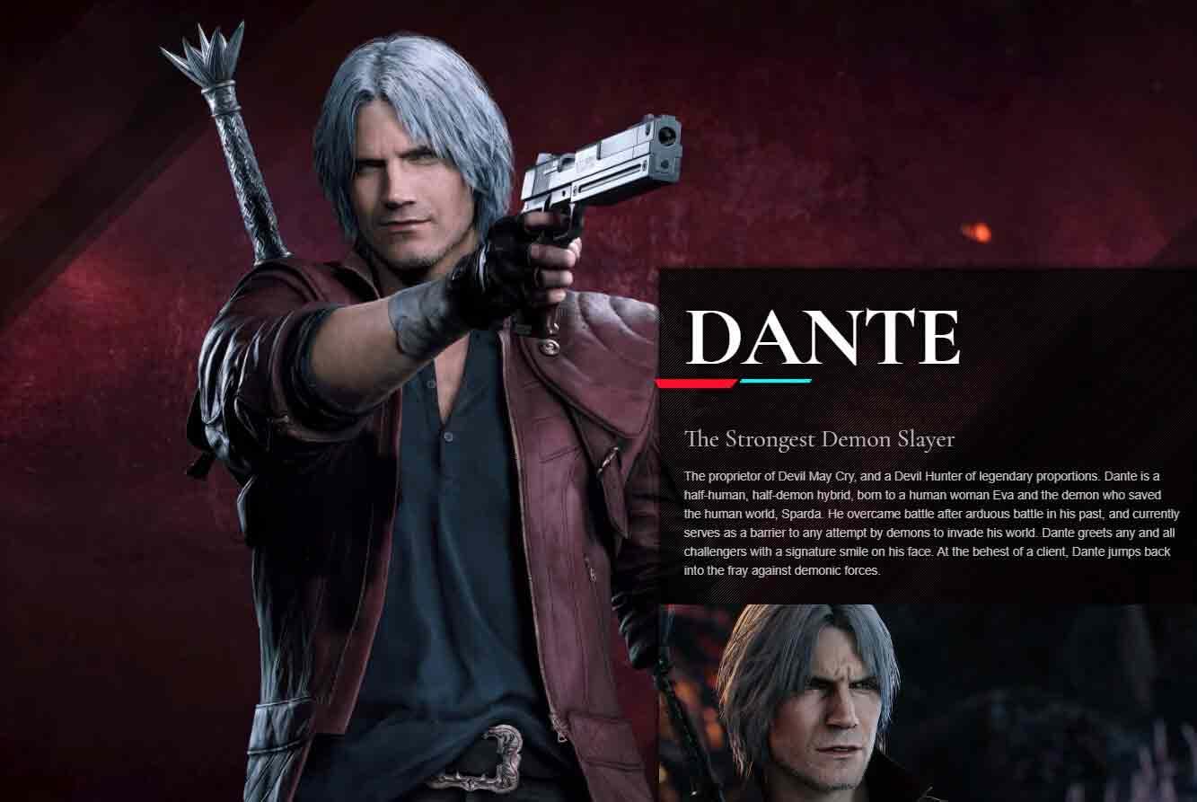 Dante-Devil-May-Cry-บุตรแห่งจอมปีศาจ1
