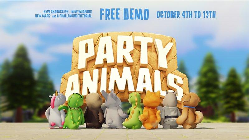 Party Animals เกมน่ารักสุดป่วน