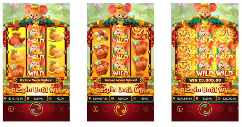 สล็อตหนู นำโชค Fortune Mouse-4