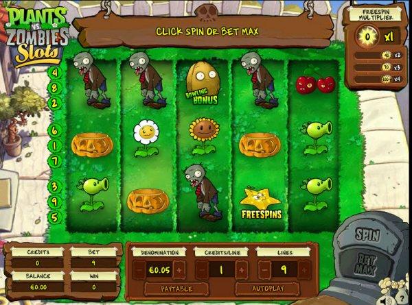 สล็อตซอมบี้ Plants vs Zombies Slots-2