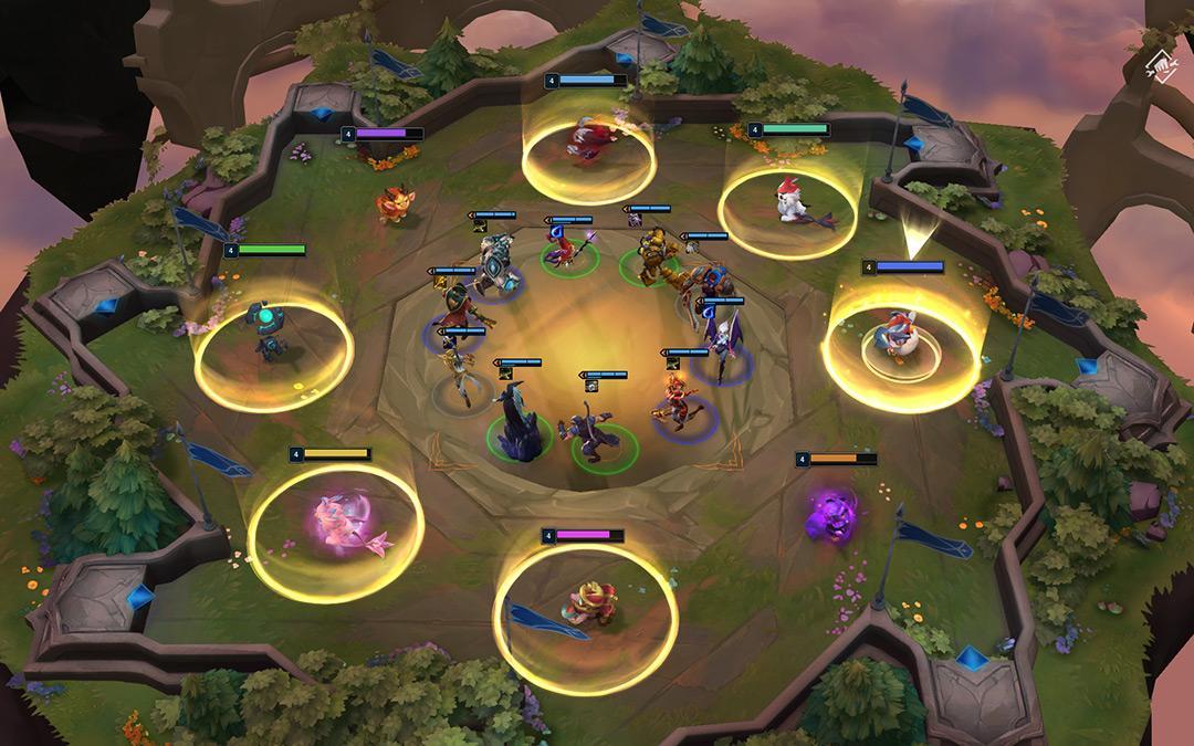 Teamfight Tactics Mobile ทีมไฟต์แท็กติกส์2