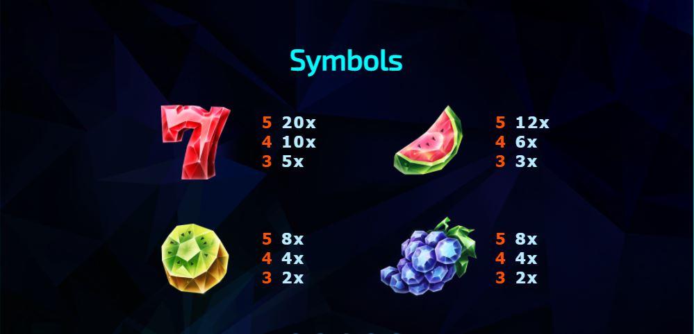 243 Crystal Fruits Reversed คริสตัลผลไม้หลากสี-2