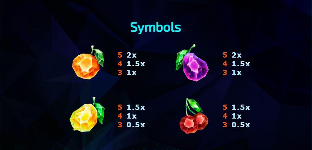 243 Crystal Fruits Reversed คริสตัลผลไม้หลากสี-3